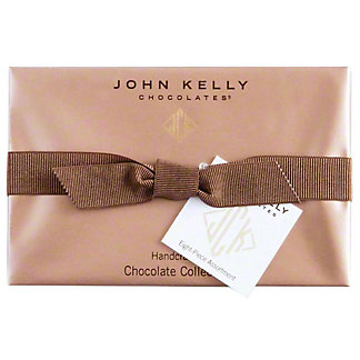 JOHN KELLY CHOCOLATES John Kelly Chocolates Truffle Fudge 8 Flavor Assortment,13 OZ