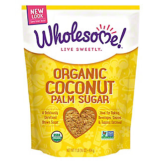Wholesome Organic Coconut Palm Sugar,1 LB