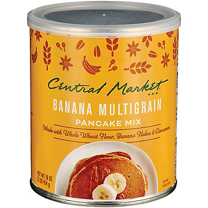 Central Market Banana Multigrain Pancake Mix,16 OZ