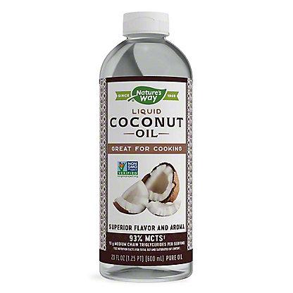 Nature's Way Liquid Coconut Premium Oil, 20 oz