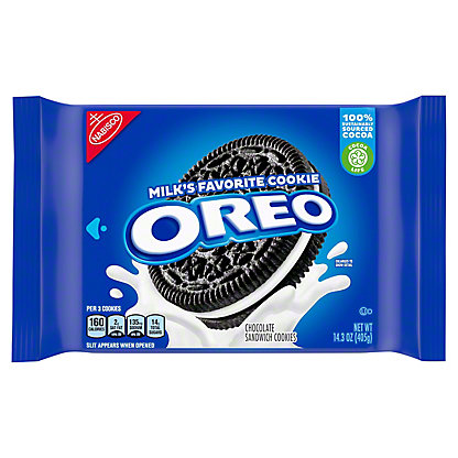 Nabisco Oreo Chocolate Sandwich Cookies, 14.3 oz