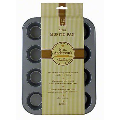 HAROLD IMPORT 12 Cup Mini Muffin Pan Nonstick,1