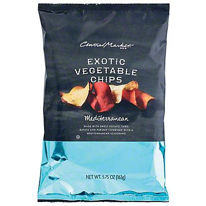 Central Market Exotic Mediterranean Blend Vegetable Chips,5.75 OZ