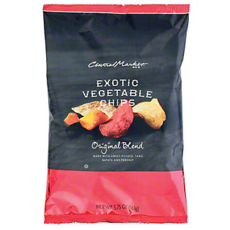 Central Market Exotic Original Blend Vegetable Chips,5.75 OZ