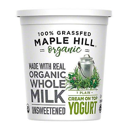 Maple Hill Creamery 100% Grassfed Plain Yogurt,32 OZ