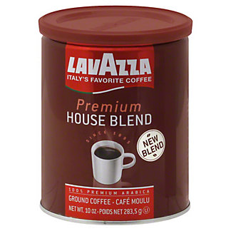 LavAzza Premium House Blend Ground Coffee,10 OZ