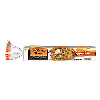Thomas' Pumpkin Spice English Muffins, 13 oz