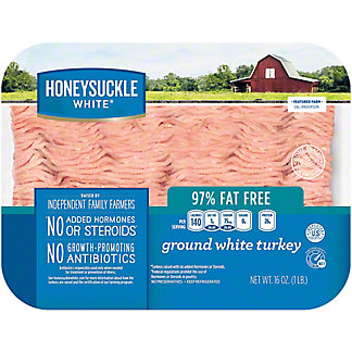 Honeysuckle White 97% Extra Lean Ground Turkey, 16 oz