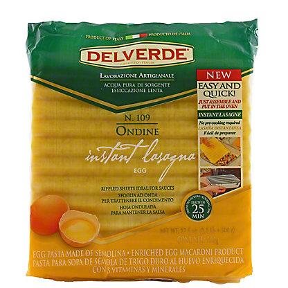 Delverde Ondine Egg No Boil Lasagna,17.6OZ