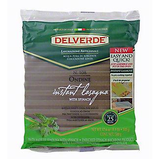 Delverde Ondine Spinach No Boil Lasagna, 17.6 oz