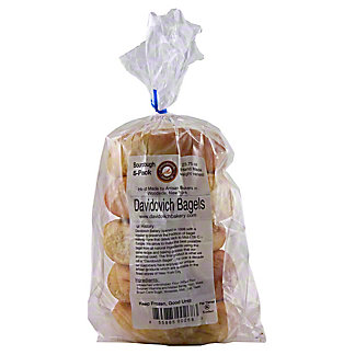 Davidovich Bagels Sourdough, 20 OZ