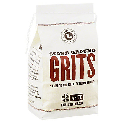 Luquire Family Foods Carolina Creole Stone Ground Grits,1.5LB
