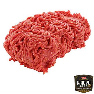 H-E-B American Kobe Ground Beef Chuck, LB