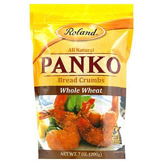 Roland Whole Wheat Panko Bread Crumbs,7OZ