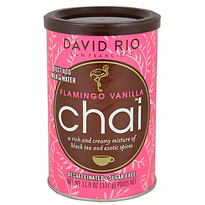 David Rio Flamingo Vanilla Chai Sugar Free Tea, 11.9OZ