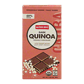 Alter Eco Organic Dark Quinoa Chocolate Bar, 2.82 OZ