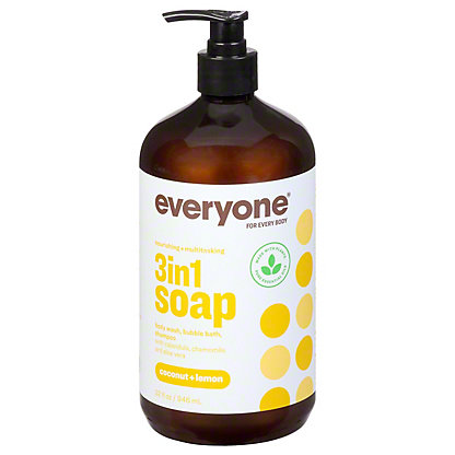 Everyone Coconut and Lemon Everyone Soap, 32 oz