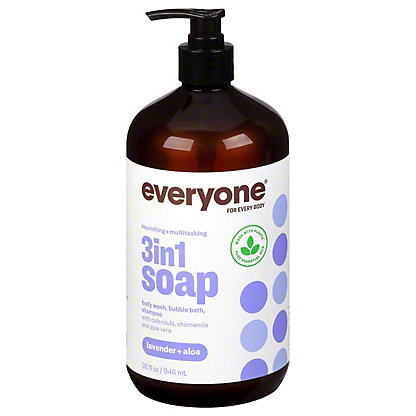 Everyone Lavender and Aloe Everyone Soap, 32 oz