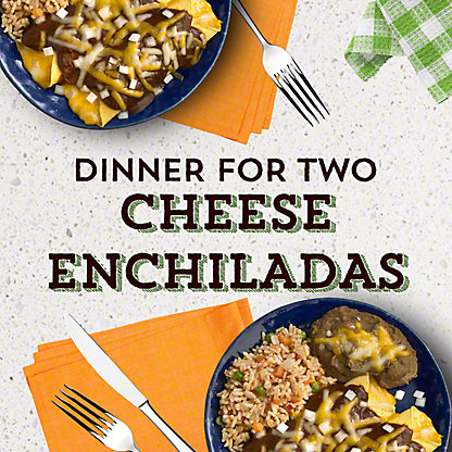Central Market Cheese Enchilada Dinner for Two, ea