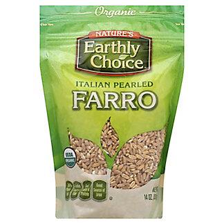 Natures Earthly Choice Organic Natures Earthly Choice Farro Organic, 14.00 oz