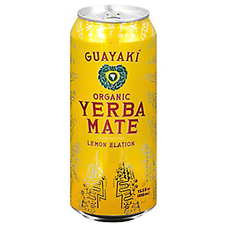 Guayaki Yerba Mate Lemon Elation,16 OZ