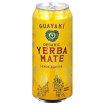 Guayaki Yerba Mate Lemon Elation,16 OZ
