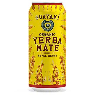 Guayaki Yerba Mate Revel Berry, 16 oz