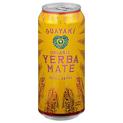 Guayaki Yerba Mate Revel Berry, 16 oz