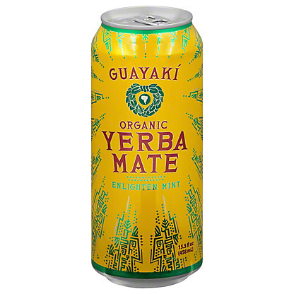 Guayaki Guayaki Enlighten Mint Yerba Mate,16 OZ