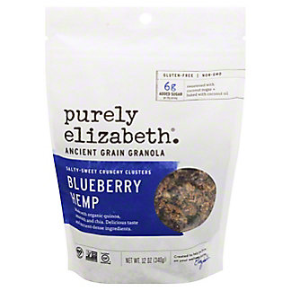 Purely Elizabeth Blueberry Hemp Organic Granola,12 oz