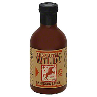 Absolutely Wild Hot Barbecue Sauce, 19.4 oz