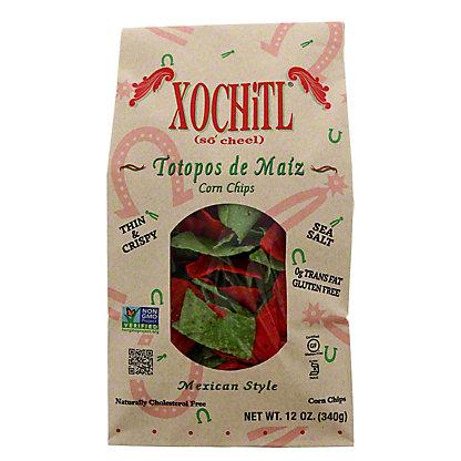 Xochitl Christmas Salted Tortilla Chips, 12OZ