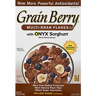 The Silver Palate Grain Berry Bran Flakes Cereal, 12 oz