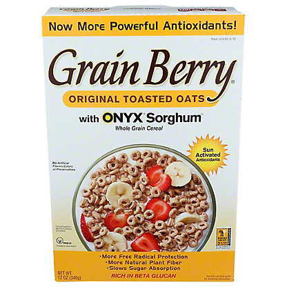 The Silver Palate Grain Berry Toasted Oats Whole Grain Cereal, 12 oz