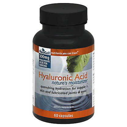 NEOCELL Hyaluronic Acid Caps, 60 ct