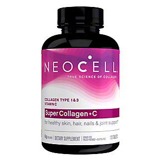 Neocell Super collagen + C Type 1 And 3 6000 mg Tablets,120 CT