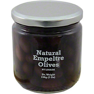 Dequmana Natural Empeltre Olives, 12OZ