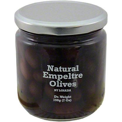 Dequmana Natural Empeltre Olives, 12OZ