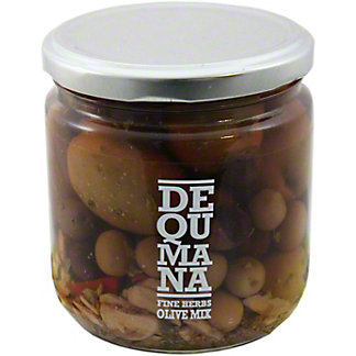 Dequmana Fine Herbs Olive Mix, 12OZ