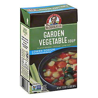 Dr McDougalls Garden Vegetable Soup Lower Sodium Soup,17.9 oz (507 g)