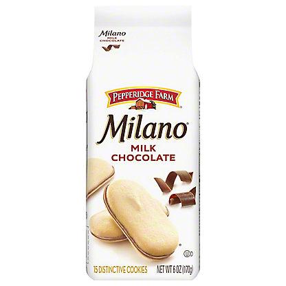 Pepperidge Farm Milano Milk Chocolate Cookies, 6 oz