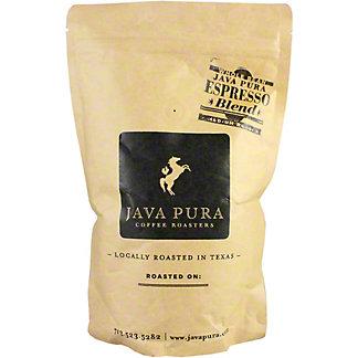 Java Pura Coffee Espresso Blend, 12 oz
