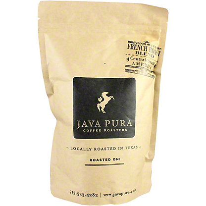 Java Pura Coffee French Roast, 12 oz