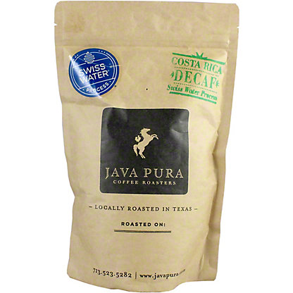 Java Pura Coffee Costa Rica Decaf, 12 oz