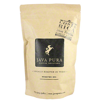 Java Pura Coffee Costa Rica Don Teofilo, 12 oz