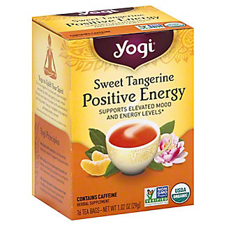 Yogi Yogi Sweet Tangerine Positive Energy Tea Bags,16 ct