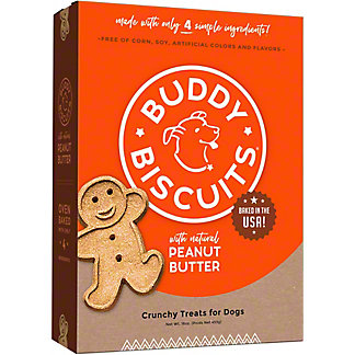 Cloud Star Buddy Biscuits Peanut Butter, 16.00 oz