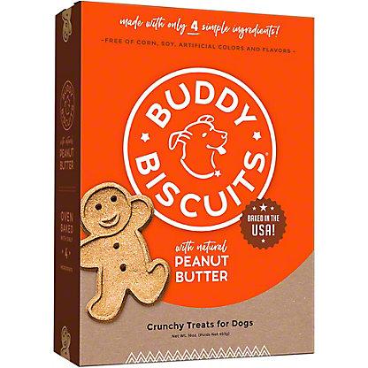 Cloud Star Buddy Biscuits Peanut Butter, 16.00 oz