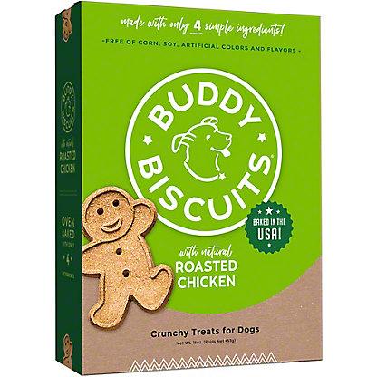 Cloud Star Buddy Biscuits Original Roasted Chicken Flavor Biscuits,16.00 oz