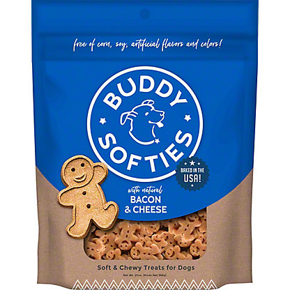 Cloud Star Buddy Biscuits Original Soft & Chewy Bacon Cheese Flavored Biscuits,6.00 oz
